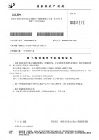 专利通知书:一种臭氧发生器
